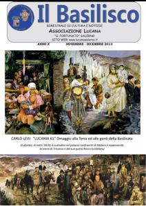 Basilisco - Novembre - Dicembre 2013